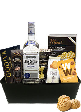 ESPECIALLY SILVER GIFT BASKET
