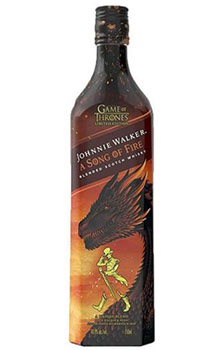 JOHNNIE WALKER GAME OF THRONE A SONG OF FIRE