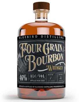 BLUEBIRD DISTILLING BOURBON FOUR GR