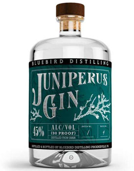 BLUEBIRD DISTILLING GIN JUNIPERUS