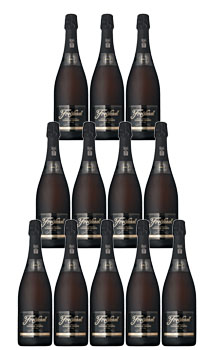 FREIXENET CAVA BRUT CORDON NEGRO - CASE OF 24 BOTTLES 187ML