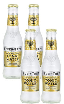 TONIC WATER - FEVER TREE INDIAN TONIC WATER - 4 PACK