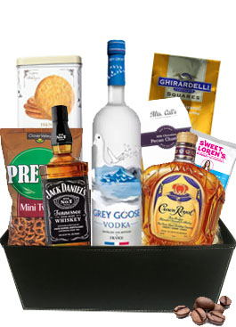 A GENTLEMANS DELIGHT GIFT BASKET