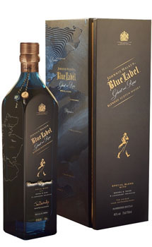 JOHNNIE WALKER BLUE LABEL GHOST & R