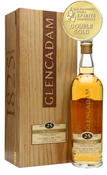 GLENCADAM SCOTCH SINGLE MALT 25 YEA