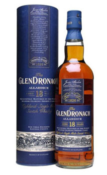 GLENDRONACH SCOTCH SINGLE MALT 18 Y