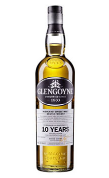 GLENGOYNE 10 YEAR OLD SINGLE MALT