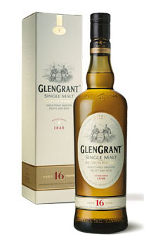 GLEN GRANT SCOTCH SINGLE MALT 16 YE