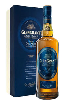 GLEN GRANT SCOTCH SINGLE MALT FIVE