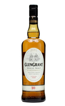 GLEN GRANT SCOTCH SINGLE MALT 10 YE