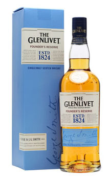 THE GLENLIVET SCOTCH SINGLE MALT FOUNDER'S RESERVE - 750ML