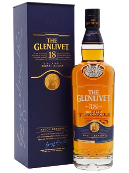GLENLIVET SCOTCH SINGLE MALT - 750M