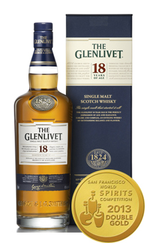 THE GLENLIVET 18 YEAR OLD SINGLE MALT - 750ML
