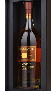 GLENMORANGIE EXTREMELY RARE 18 YEARS OLD SINGLE MALT SCOTCH WHISKY - 750ML