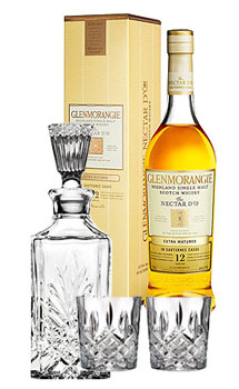 GLENMORANGIE NECTAR D'OR 12 COLLABORATION GIFT SET