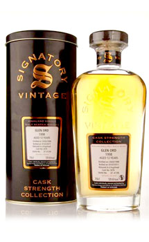 GLEN ORD SCOTCH SINGLE MALT 1998 BY