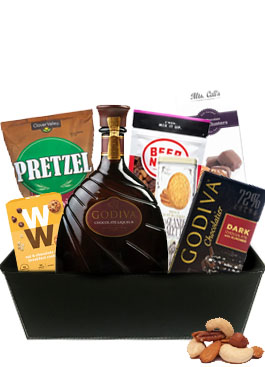 GODIVA BAR MIX GIFT BASKET