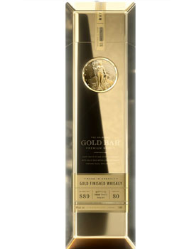 GOLD BAR PREMIUM BLENDED AMERICAN WHISKEY