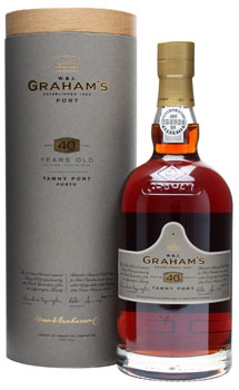 GRAHAM'S 40 YEAR OLD TAWNY PORT