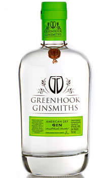 GREENHOOK GINSMITHS GIN AMERICAN DRY