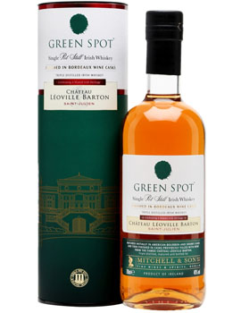 GREEN SPOT IRISH WHISKEY FINISHED IN CHATEAU LEOVILLE BARTON CASK