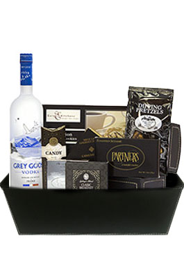 GREY SENSATION GIFT BASKET