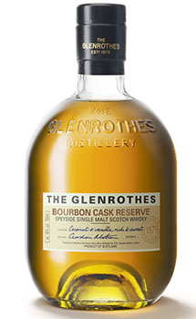 GLENROTHES SINGLE MALT SCOTCH BOURBON CASK RESERVE