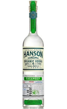 HANSON OF SONOMA VODKA ORGANIC CUCU