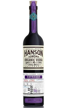HANSON OF SONOMA VODKA ORGANIC ESPR