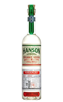 HANSON OF SONOMA VODKA ORGANIC HABA
