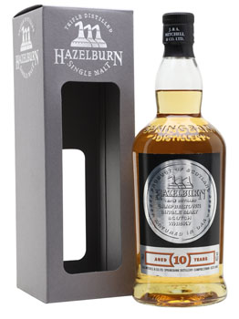 HAZELBURN SCOTCH SINGLE MALT 10 YEA