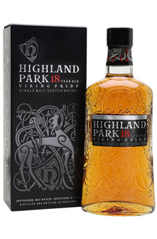 HIGHLAND PARK SCOTCH SINGLE MALT 18 YEAR VIKING PRIDE