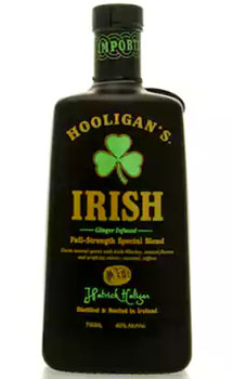 HOOLIGANS GINGER INFUSED IRISH WHISKEY