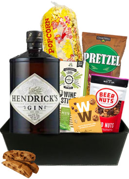 HOUSE OF HENDRICKS GIN GIFT BASKET