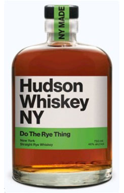 HUDSON WHISKEY NY BOURBON DO THE RYE THING