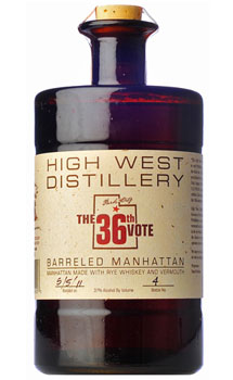 HIGH WEST THE 36TH VOTE BARRELED MA