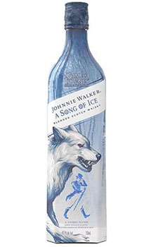 JOHNNIE WALKER GAME OF THRONE A SONG OF ICE