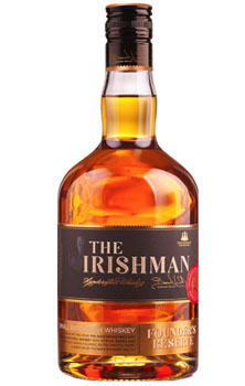 THE IRISHMAN IRISH WHISKEY FOUNDER'
