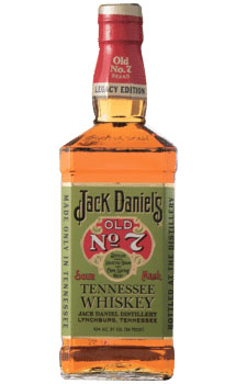 JACK DANIEL'S WHISKEY SOUR MASH NO 7 LEGACY EDITION #1