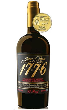 JAMES E. PEPPER 1776 RYE WHISKEY SHERRY CASK
