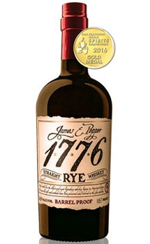 JAMES E. PEPPER 1776 RYE WHISKEY BA