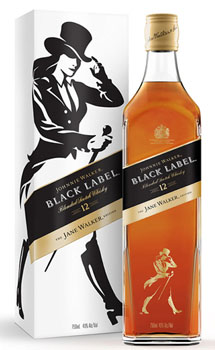 JOHNNIE WALKER BLACK LABEL - JANE WALKER EDITION