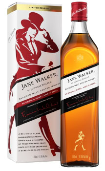 JOHNNIE WALKER BLACK LABEL -750ML JANE WALKER 2ND EDITION