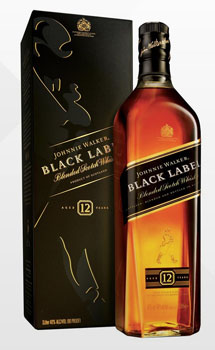 JOHNNIE WALKER SCOTCH BLACK LABEL - 1.75L