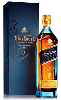 JOHNNIE WALKER BLUE LABEL SCOTCH -