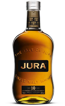 JURA SINGLE MALT SCOTCH 10 YEAR OLD