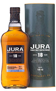 JURA SINGLE MALT SCOTCH 18 YEAR OLD