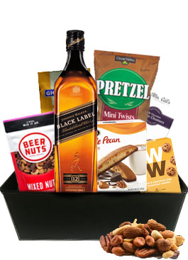 JOHNNIE ENGAGEMENT GIFT BASKET