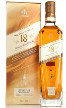 JOHNNIE WALKER SCOTCH ULTIMATE 18 YEAR OLD - 750ML