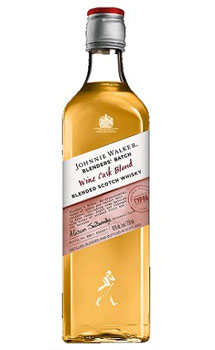 JOHNNIE WALKER SCOTCH 10 YEAR BLENDER'S BATCH WINE CASK BLEND
